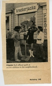Hippies find offbeat garb at recent addition to the neighborhood