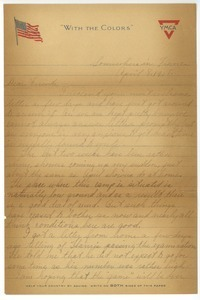 Letter from Phillip N. Pike to A. J. Adams