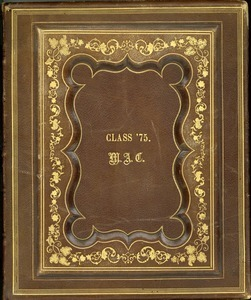 Massachusetts Agricultural College Class of 1875 Photograph Album
