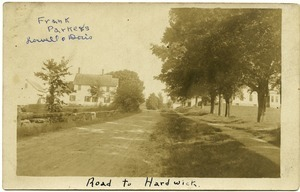 Road to Hardwick: Frank Parker's (Lowell and Doris)