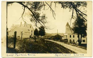 Lucy Parker's house, Spiritualist Church