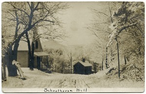 Schoolhouse Hill [in snow]