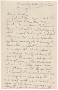 Letter from Harold D. Langland to Chucky