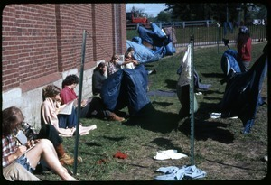 Enjoying sun while drying laundry: Occupation of the Seabrook Nuclear Power Plant