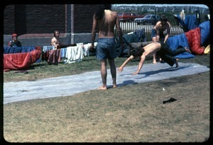 Water slide in the yard: Occupation of the Seabrook Nuclear Power Plant