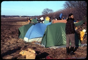 Camp day 1: Occupation of the Seabrook Nuclear Power Plant