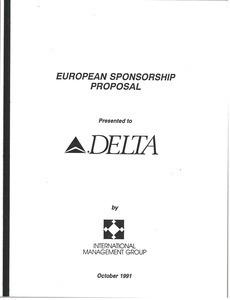 European sponsorship proposal