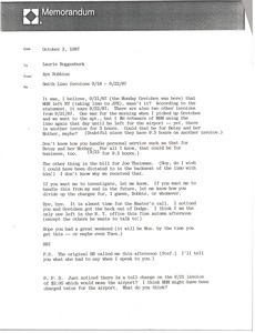 Fax from Ayn Robbins to Laurie Roggenburk