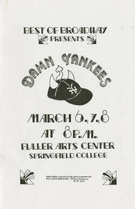 Best of Broadway: Damn Yankees program, 1986