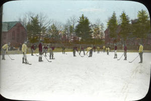 Hockey on South Field (c. 1910)