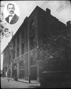 Max Exner and Shanghai YMCA