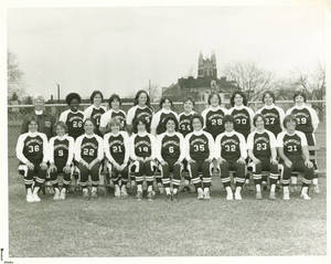 Springfield College Softball Team Photo of 1979