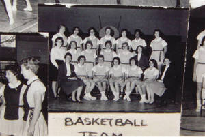 SC Women's Varsity and JV Basketball Team (1964)