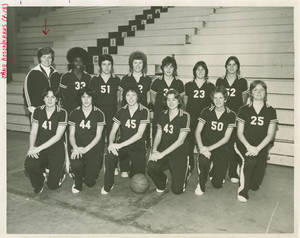 Women's Basketball Team (1978)
