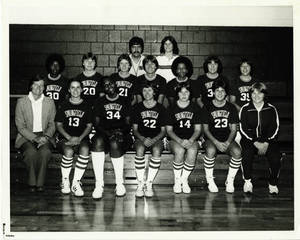 Women's Basketball Team (1979-1980)
