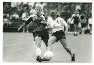 SC Soccer Player Controlling the Ball