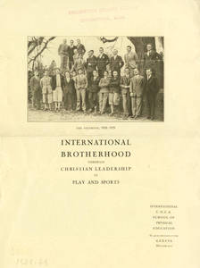 International Brotherhood Pamphlet (1929-1930)