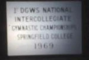 1st National Intercollegiate Gymnastics Competition (May 1969)