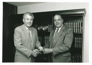 Edward Brennan and Randolph Bromery (c. 1992)
