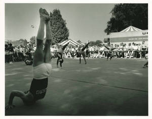 Springfield College Gymnasts at Big E (September 22, 1984)