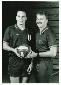 Coach Dearing with Groeneveld (c. 1990-1991)