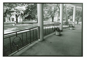 Cheney Dining Hall Portico, c. 1968-2004
