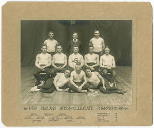 1920 New England Inter-Collegitae Championship Team