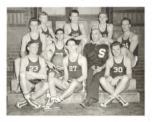50th Anniversary of Basketball: 1942 Springfield College Basketball