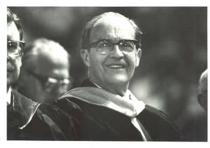 Charles Weckwerth at Commencement