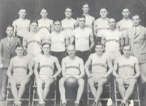 1927 All New England Basketball Team