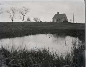 Home and pond of Reuben Austin Snow, the cross-dressing hermit of Cape Cod