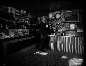 Interior of a country store