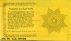 Clamshell Sun Quilt Collection, 1978