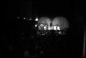 J.F.K. Lower dance at Student Union ballroom with the Boss Tweeds