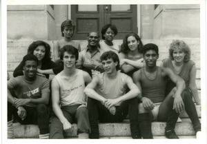 AmDans Theatre: troupe photo, Richard Jones second row, center
