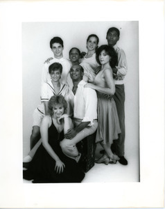 AmDans Theatre: troupe photo, Richard Jones in center