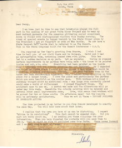 Letter from Shirley Graham Du Bois to Bernard Jaffe