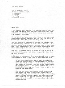 Letter from Mark H. McCormack to Ray H. Herzog