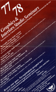 77/78 Graphics & interiors studio seminars