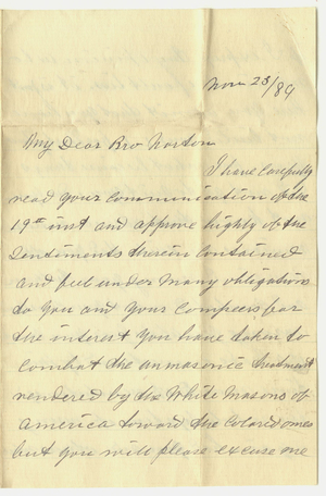 Jacob Norton Papers