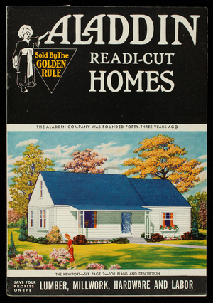 Aladdin readi-cut homes, catalogue no. 54, Aladdin Company, Bay City, Michigan