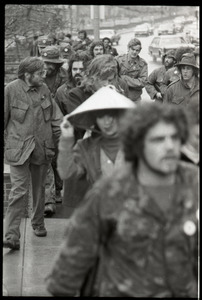 Vietnam Veterans Against the War demonstration 'Search and destroy': marching on Boston Common