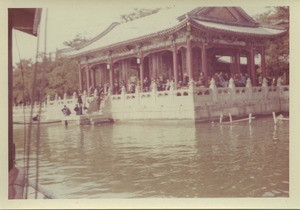 Arriving at the Summer Palace in Beijing, China