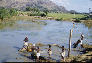 Raising water levels in South India