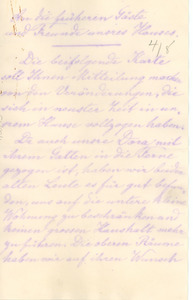 Letter from Anna Marbach to W. E. B. Du Bois