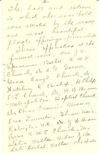 Report of the funeral of James Weldon Johnson [fragment]