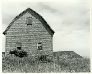 Barn and bluff