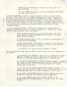 Report on Soviet Union peace efforts [fragment]