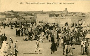 Afrique Occidentale, Tombouctou, Le Marche