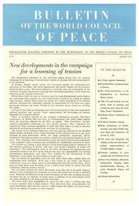 Bulletin of the World Council of Peace, number 8